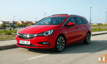 Al volante del Opel Astra ST BiTurbo 2017