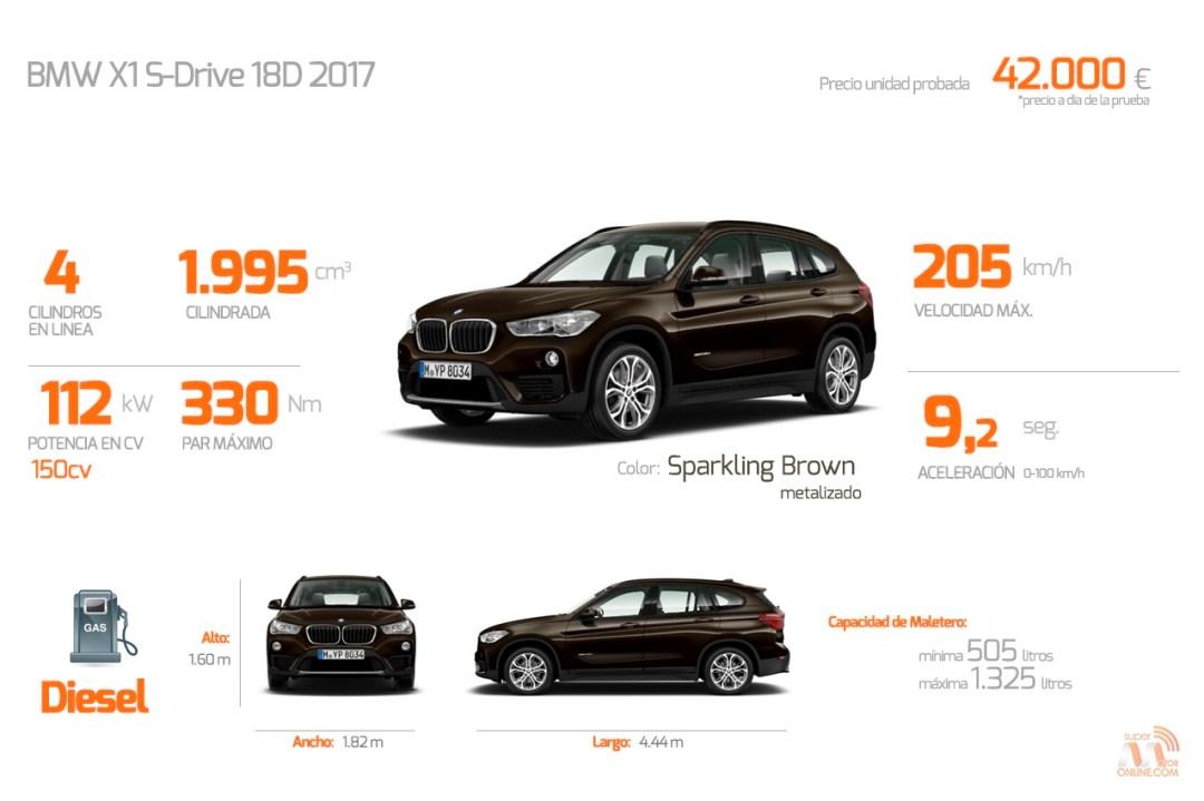 Especificaciones del BMW X1
