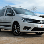 Al volante del Volkswagen Caddy Outdoor 2018