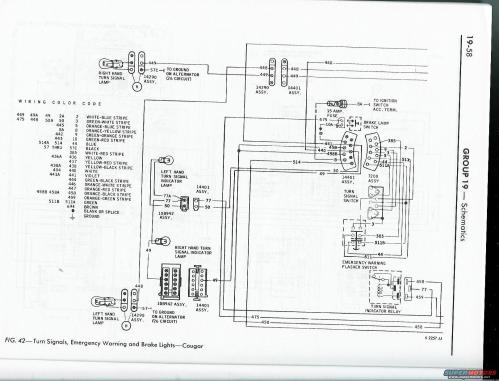 small resolution of wiring issues classic cougar community 1968 cougar wiring harness diagram