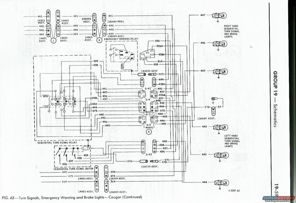 medium resolution of 67 cougar turn signal wiring diagram 36 wiring diagram 1967 68 cougar 68 lincoln