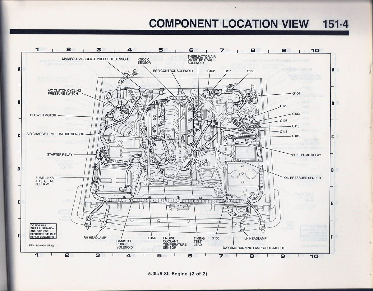 hight resolution of 1989 ford bronco 2 engine compartment wiring diagram 52 1980 bronco 1989 bronco