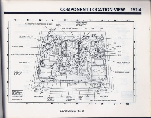 small resolution of 1989 ford bronco 2 engine compartment wiring diagram 52 1980 bronco 1989 bronco