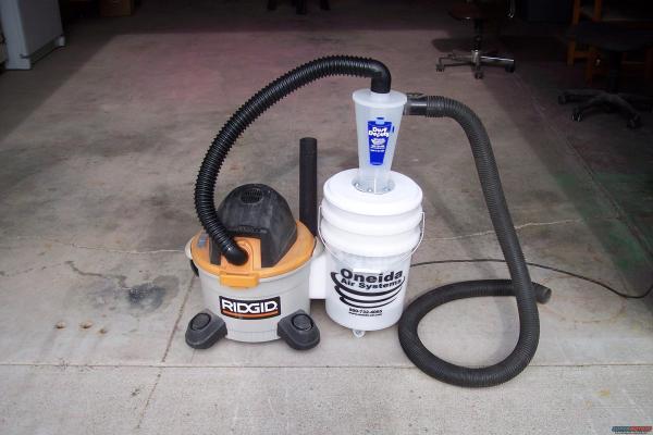 Dust Deputy Setup - Year of Clean Water