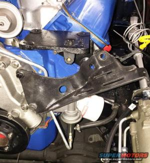 Power Steering Pump Bracket  Ford Bronco Forum