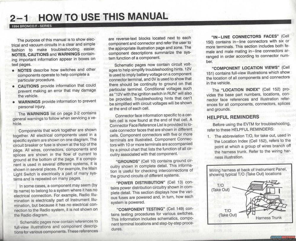 medium resolution of 1996 ford bronco 94 evtm picture supermotors net