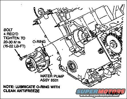 Water Pump On 2001 Ford Focus Diagram, Water, Free Engine