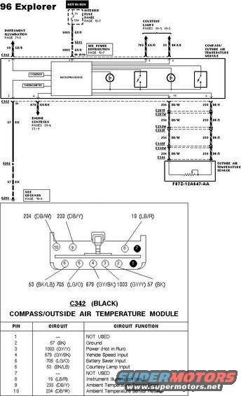 1983 Ford Bronco Overhead Console & Dual Visors pictures
