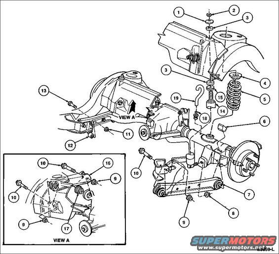 66 Ford mustang engine exploded view