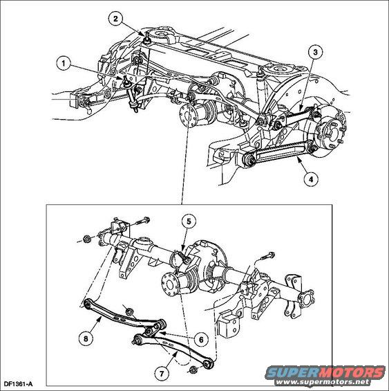 Ford Crown Victoria Front Suspension Parts Diagram, Ford