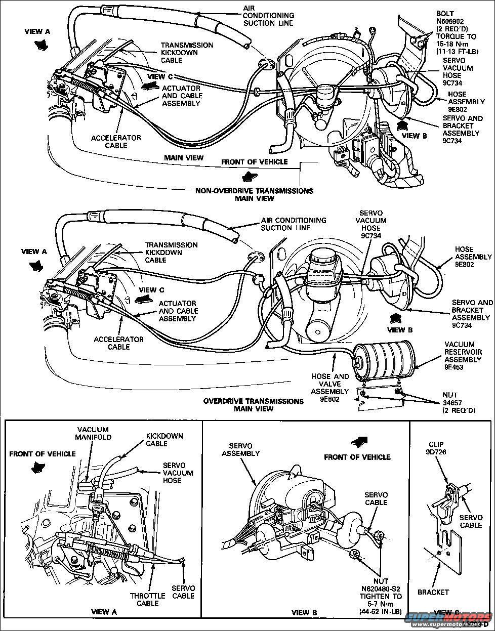 Cruise Control Vacuum Diagram On 88 Ford Bronco Vacuum