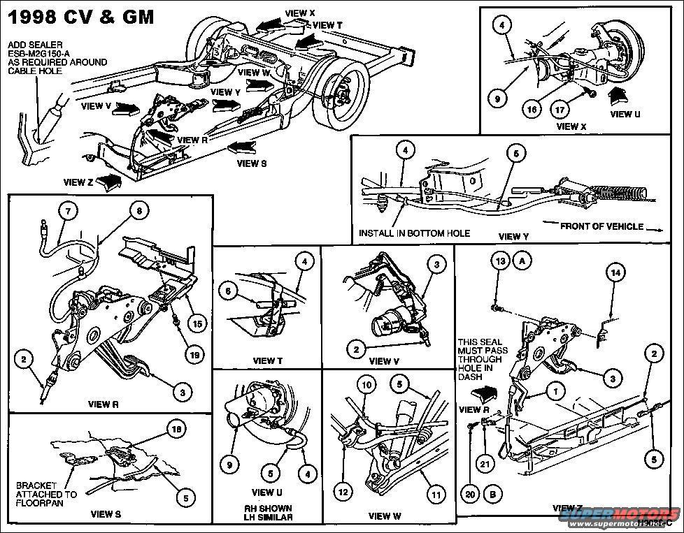 1994 Ford Crown Victoria Engine Diagram, 1994, Free Engine