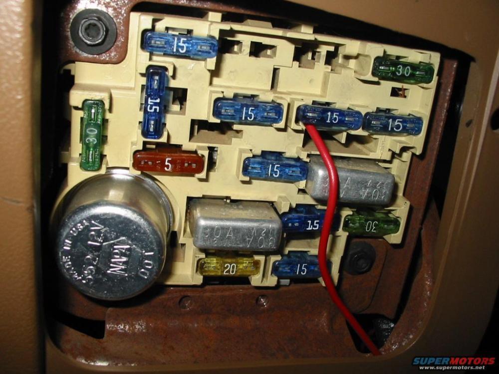 medium resolution of 1988 ford bronco fuse box basic guide wiring diagram u2022 1985 ford f 350