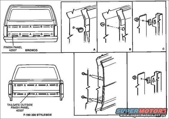 1983 Ford Bronco Tailgate Tech pictures, videos, and
