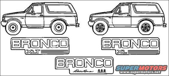 1983 Ford Bronco Diagrams pictures, videos, and sounds