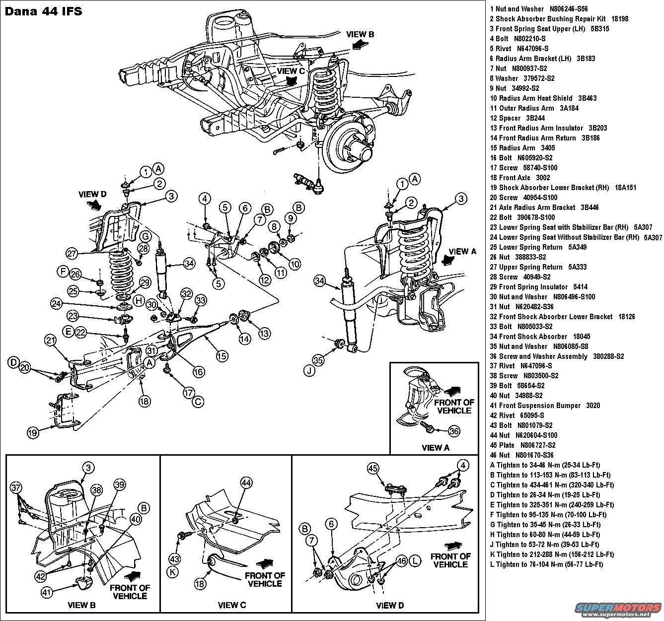 1998 ford f150 front suspension diagram e30 stereo wiring f 150 free engine image for