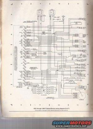 89 50L engine wiring diagram  Page 3  Ford Bronco Forum