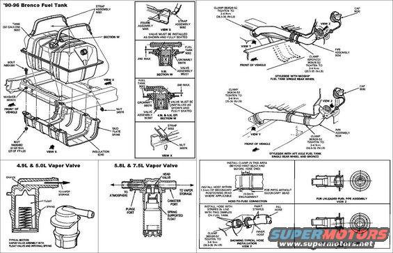 1996 Ford F150 Duel Fuel Tank Wiring Diagram : 44 Wiring
