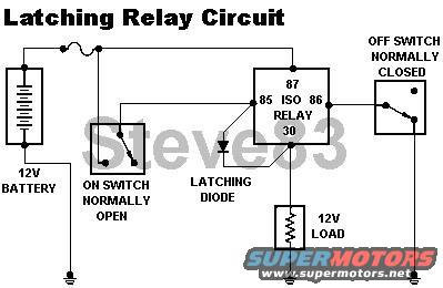Alarm Latching Relay Diagram, Alarm, Free Engine Image For