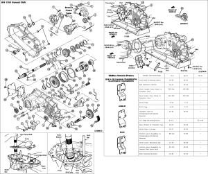 BW 1356 Manual Transfer case rebuild  Page 6  Ford