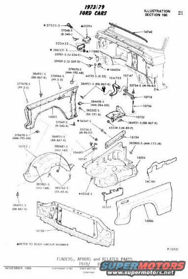 1978 Ford Bronco Exploded Diagrams/Detail Pics pictures