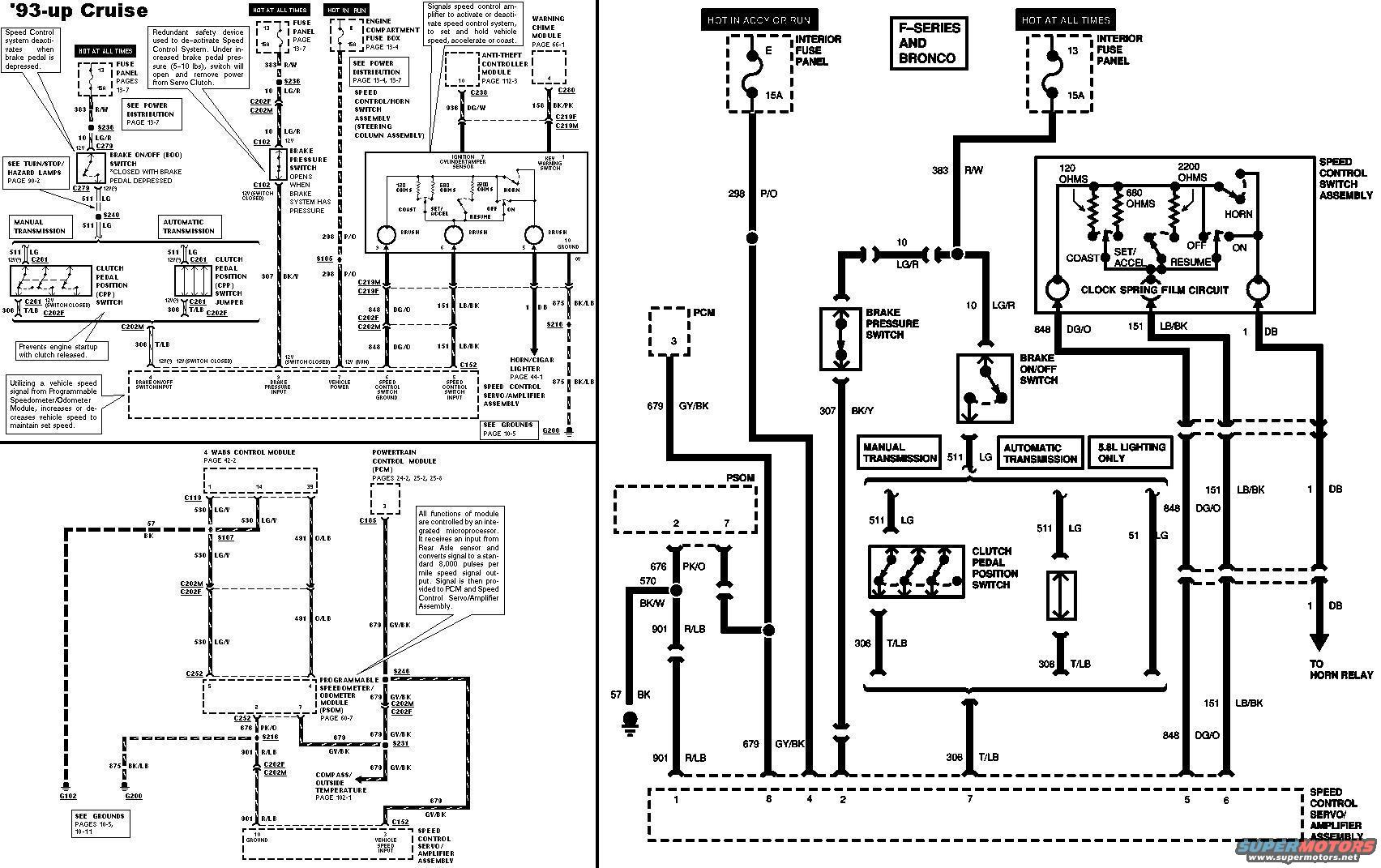 cruise control wiring diagram chinese 4 wheeler 93 ford f250 problem truck