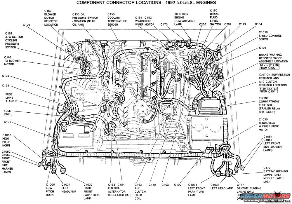 Ford 5.0 Engine Diagram