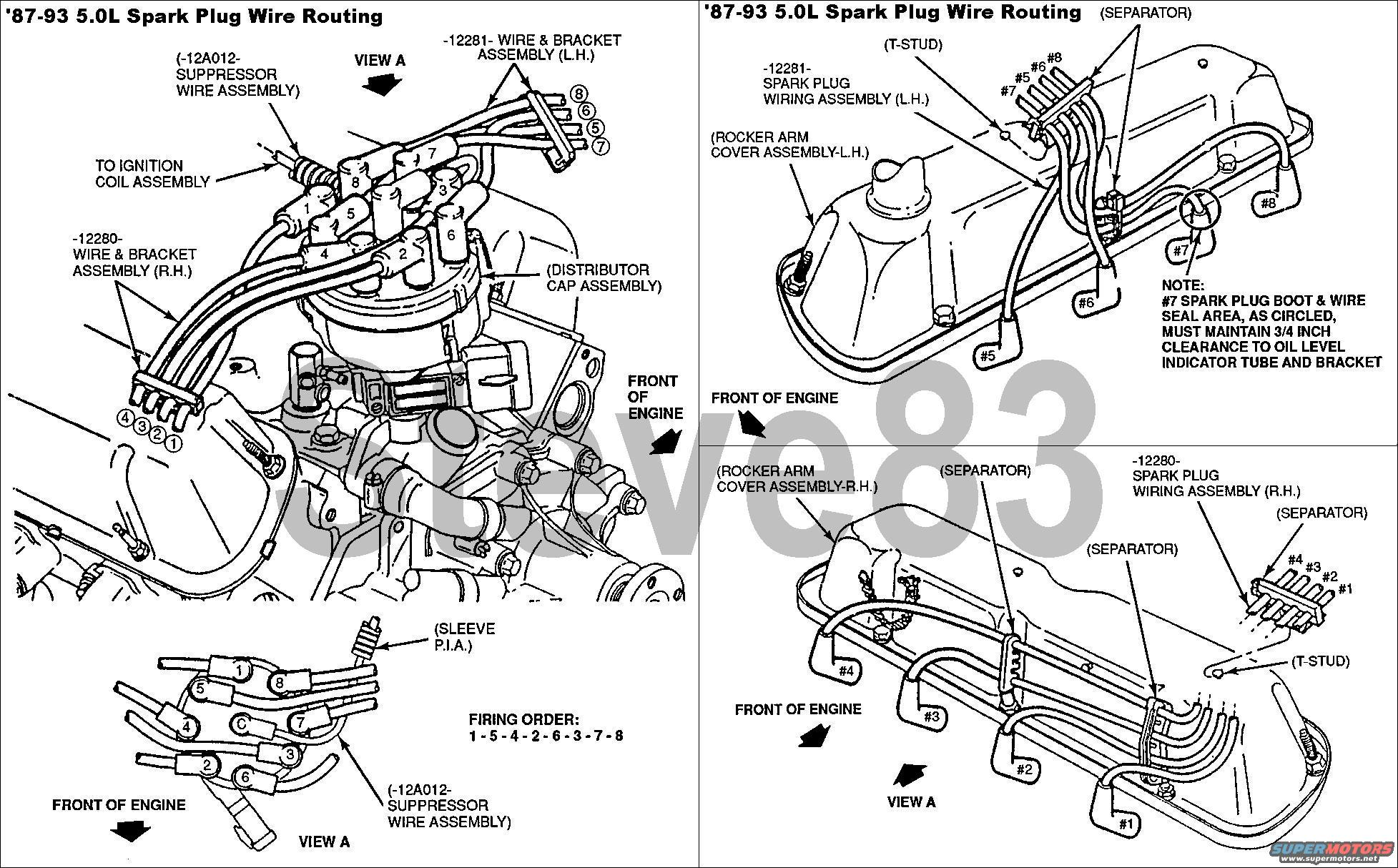 ford spark plug wire diagram 2002 saturn sl2 headlight wiring 89 dodge dakota get free image