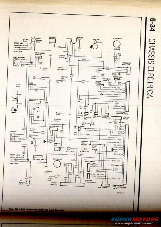 1982 F150 Wiring Diagram