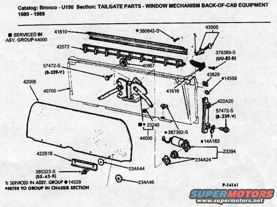 1986 Ford Bronco Tailgate pictures, videos, and sounds