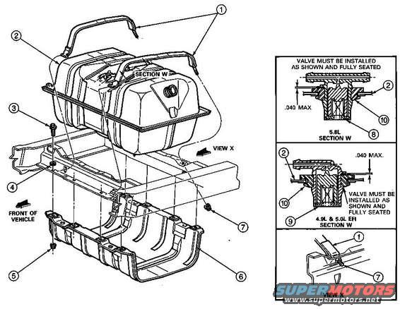 1986 Ford Bronco Fuel System pictures, videos, and sounds