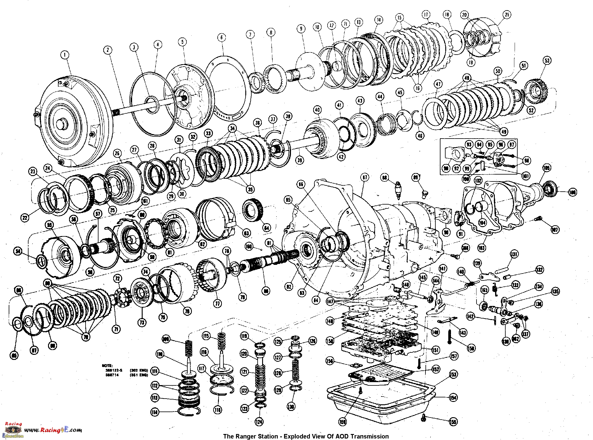 hight resolution of solenoid wiring diagram for 94 ford mustang get free ford aod transmission diagram aod transmission valve body diagram