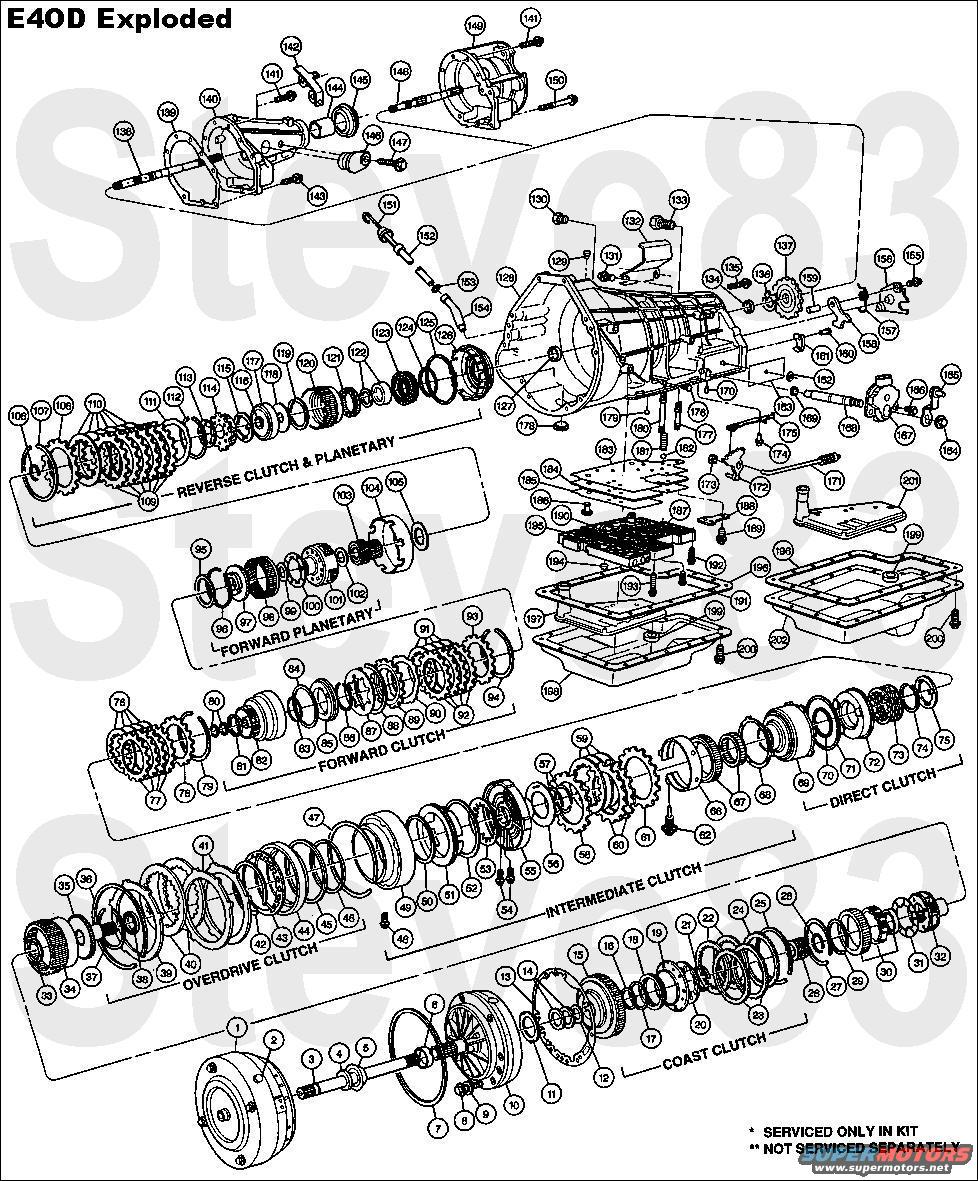 hight resolution of 4l60e exploded diagram wiring diagram yer 4l60e exploded diagram