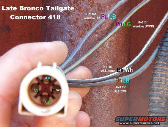 Older Ford Wiring Harnesses 94 Bronco Tailgate Compatibility Ford Bronco Forum