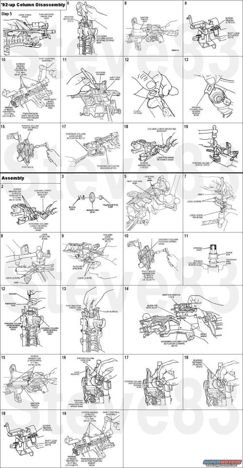 small resolution of 1994 ford crown victoria steering column picture supermotors net 1994 ford ranger steering column diagram