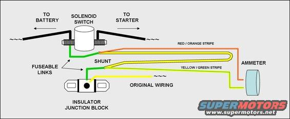 ammeter wiring help  ranchero
