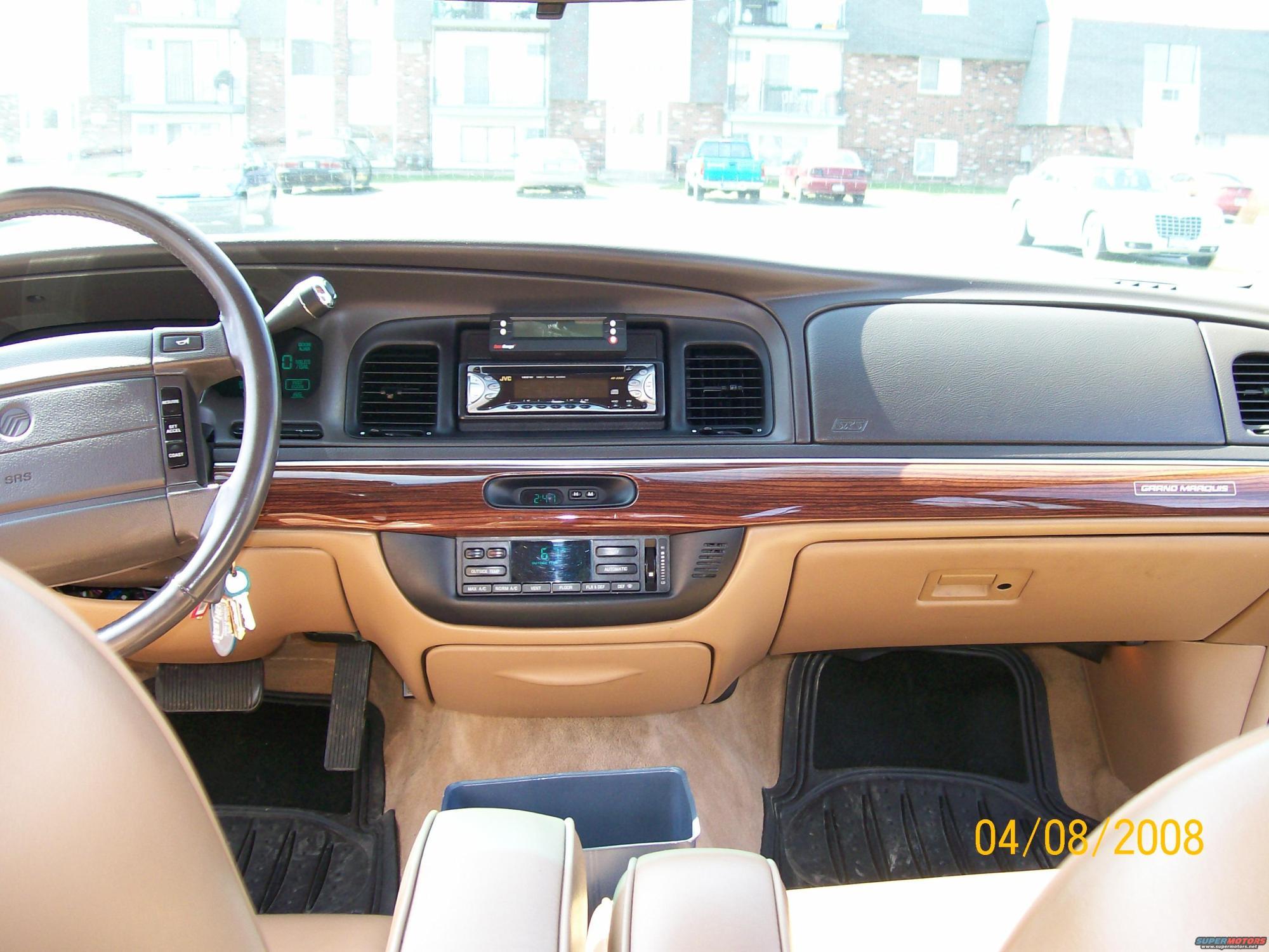 hight resolution of 1995 mercury grand marqui interior