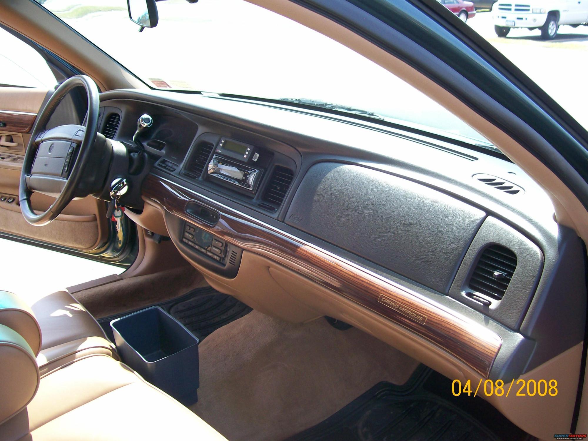 hight resolution of 1995 mercury grand marquis interior picture supermotorsnet