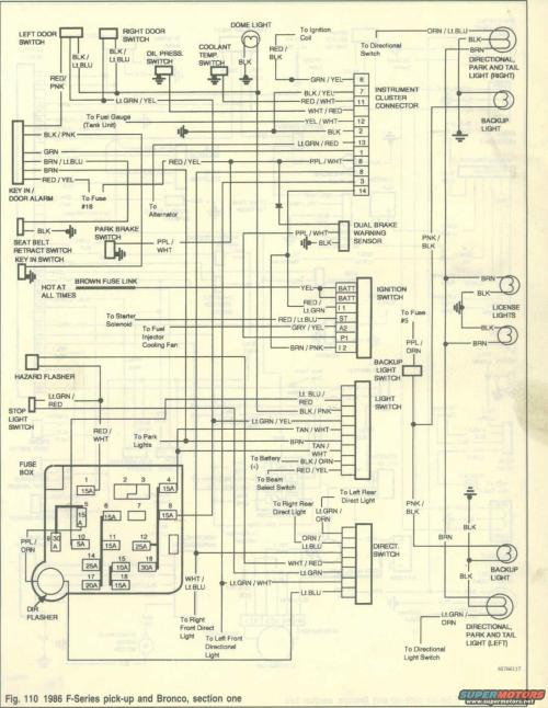 small resolution of 1986 ford wiring diagram wiring diagram schematic 1986 f250 wiring diagram schema wiring diagram 1986 ford