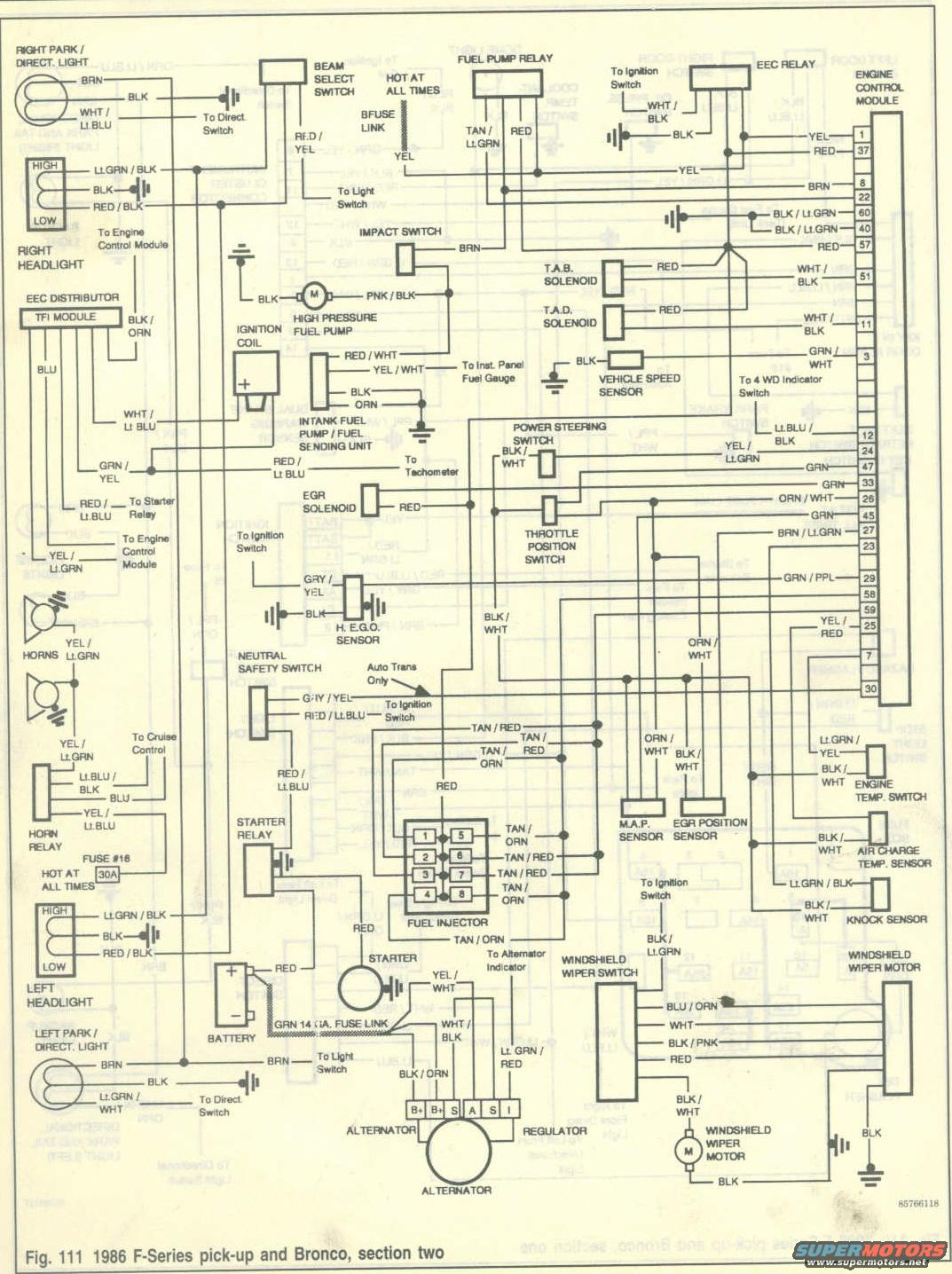 ford transit alternator wiring diagram suzuki bandit 1986 bronco diagrams picture | supermotors.net