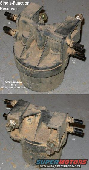 1983 Ford Bronco '8489 Fuel Reservoirs picture