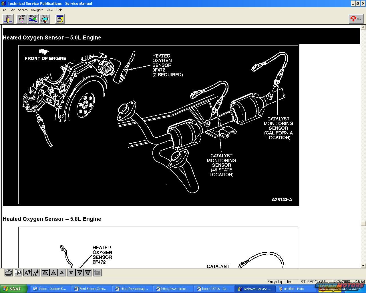 hight resolution of f150 95 engine diagram sesors 5 0