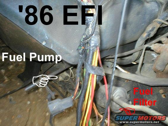 Wiring Diagram 73 Ford Pickup 1983 Ford Bronco 84 89 Fuel Reservoirs Pictures Videos
