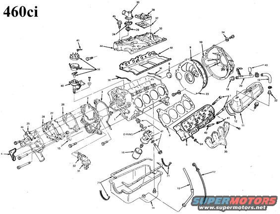 Ford Vacuum Diagram 460 Questions & Answers (With Pictures