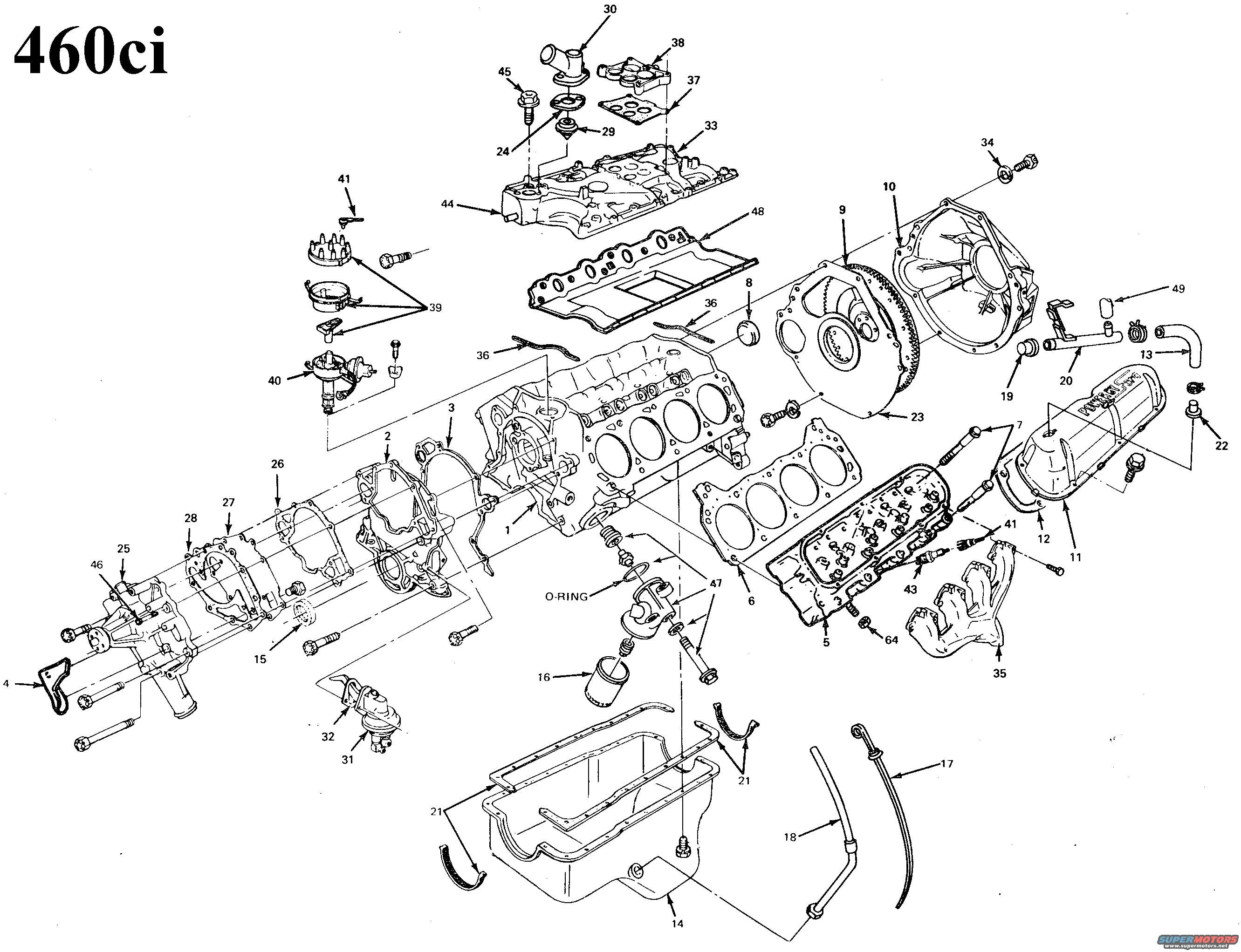 F100 Engine Cross Section