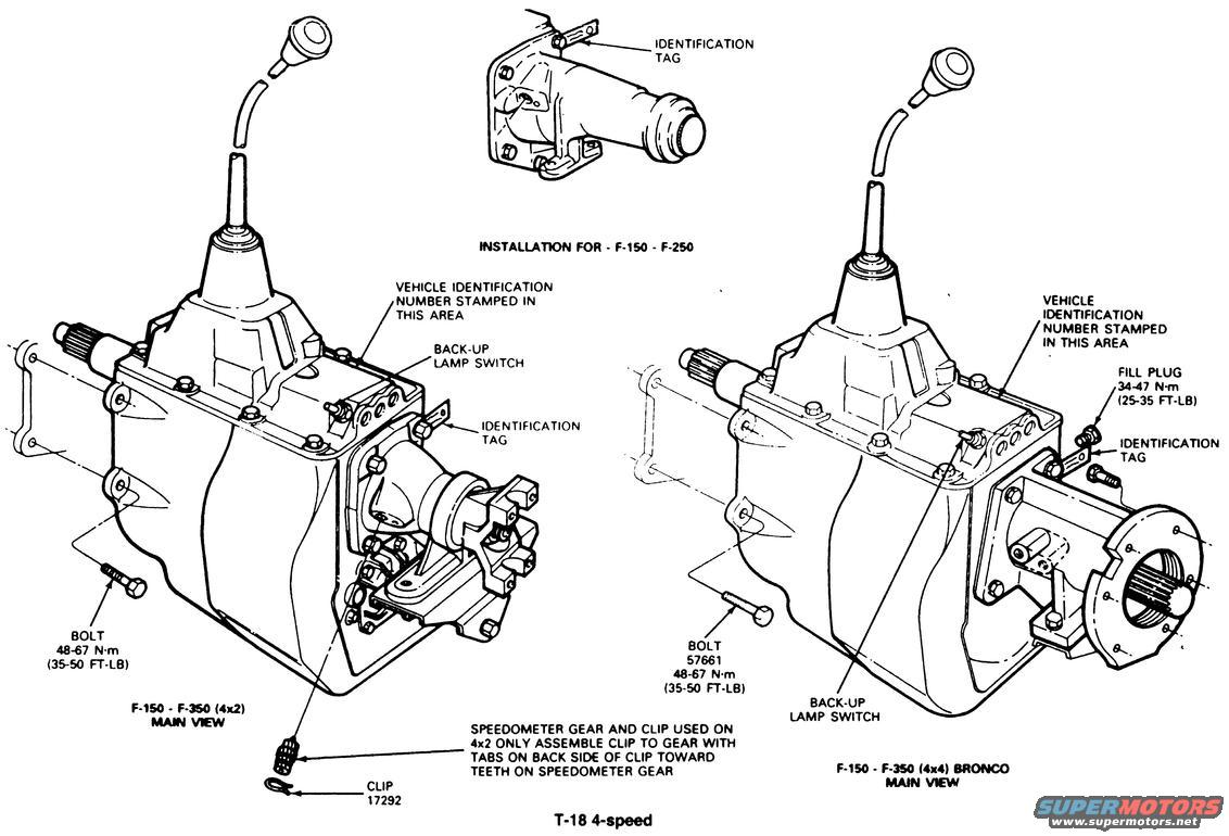 Ford Bronco Diagrams Picture Supermotors Net