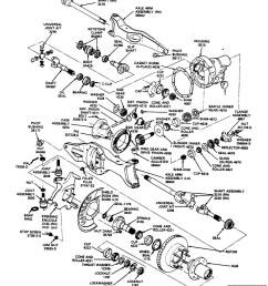 dana 44 rear axle diagram [ 1152 x 1295 Pixel ]