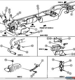 1989 ford f 150 exhaust diagram wiring diagram expert 2000 ford f150 exhaust system diagram [ 981 x 897 Pixel ]