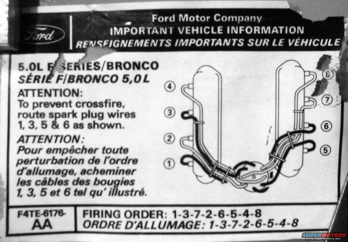 hight resolution of ford 302 plug wiring diagram residential electrical symbols