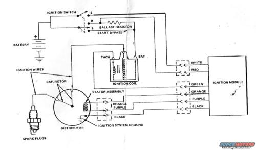 small resolution of 1986 ford bronco duraspark ii wiring diagram picture supermotors net ford distributor wiring diagram ford duraspark ii wiring diagram